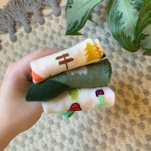 🌮 FREE Autumn Sock Bundle / Cactus Succulent